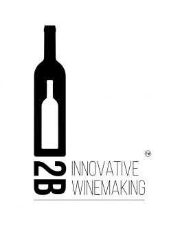 """2B Innovative Winemaking"" Logotype"