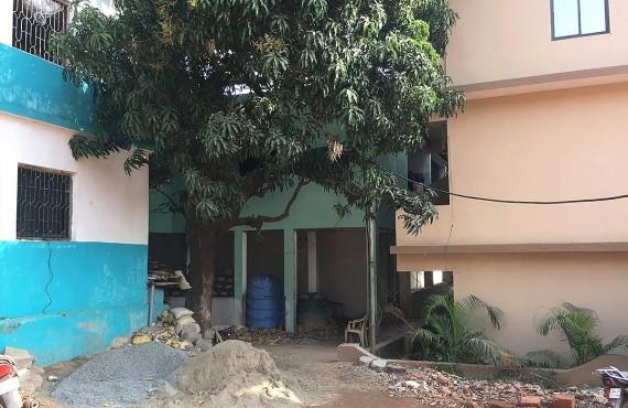 Основной вход в отель