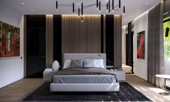 Мастер спальня