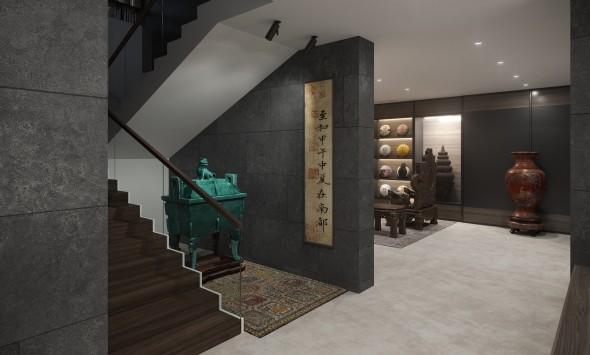 Basement hallway